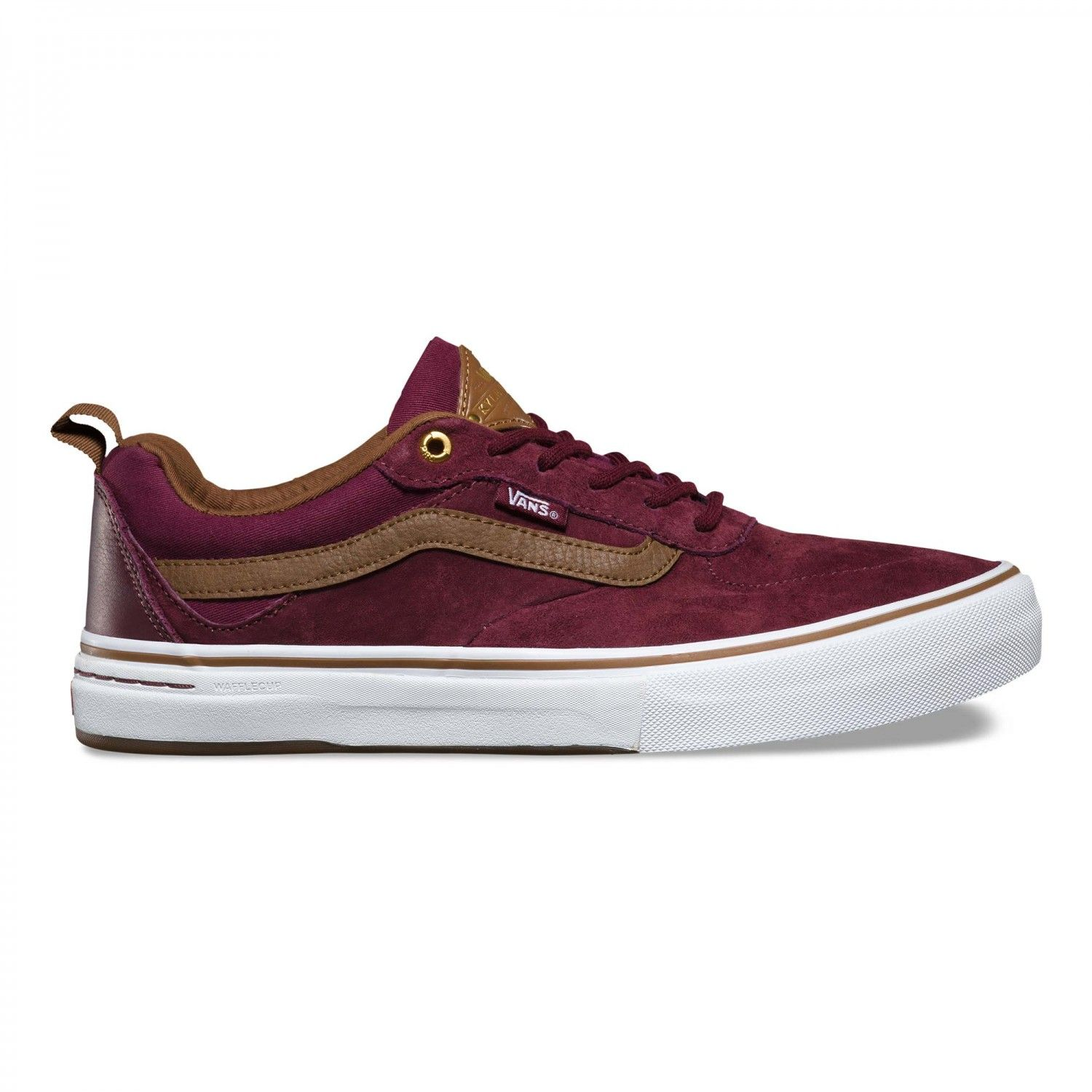 Vans Vans Kyle Walker Pro Shoes Red Dahlia Vans UK