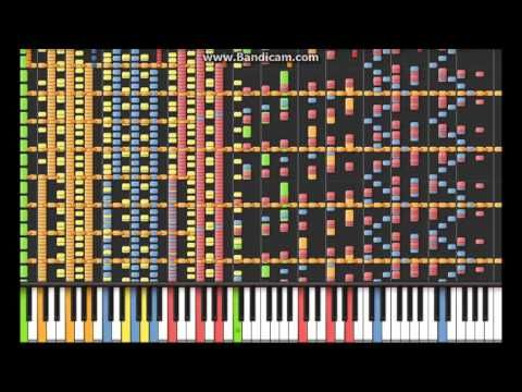 The Hardest Piano Song in Synthesia [Masterpiece] ♫ - YouTube
