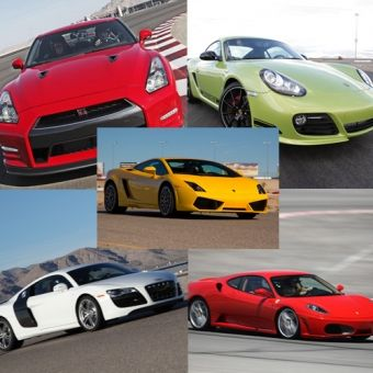 Drive 5 Of The World S Most Exclusive Supercars The Ferrari F430 The Lamborghini Gallardo Lp550 The Au Race Car Driving Nissan Gt R