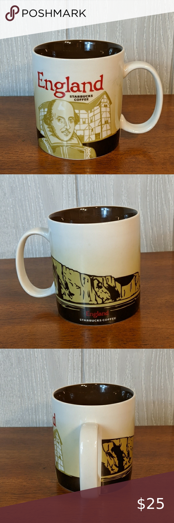 Starbucks 16oz England 2012 coffee mug Nwt in 2020