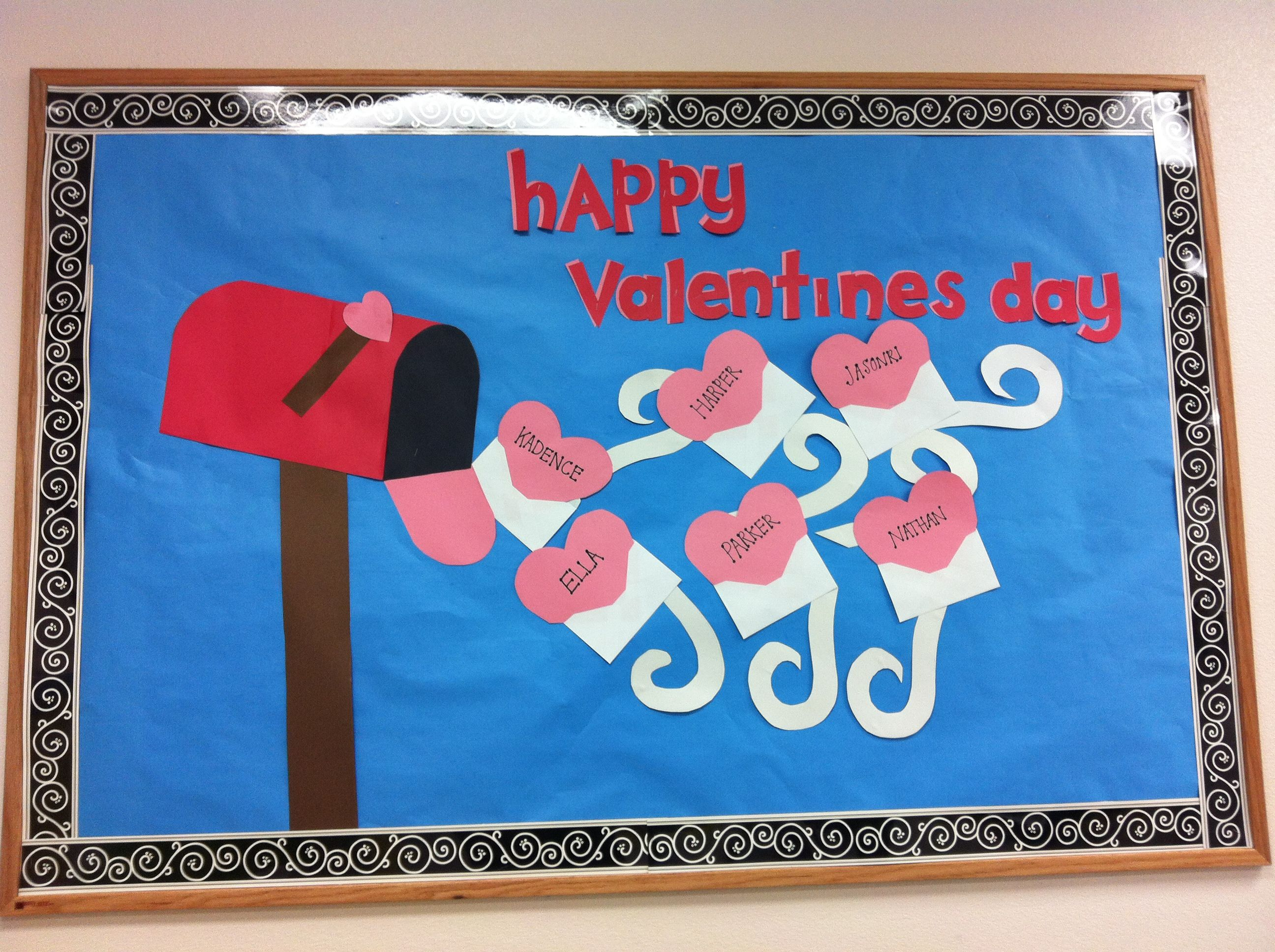 Preschool Classroom Valentine Ideas : February valentine s bulletin board for my infant classroom