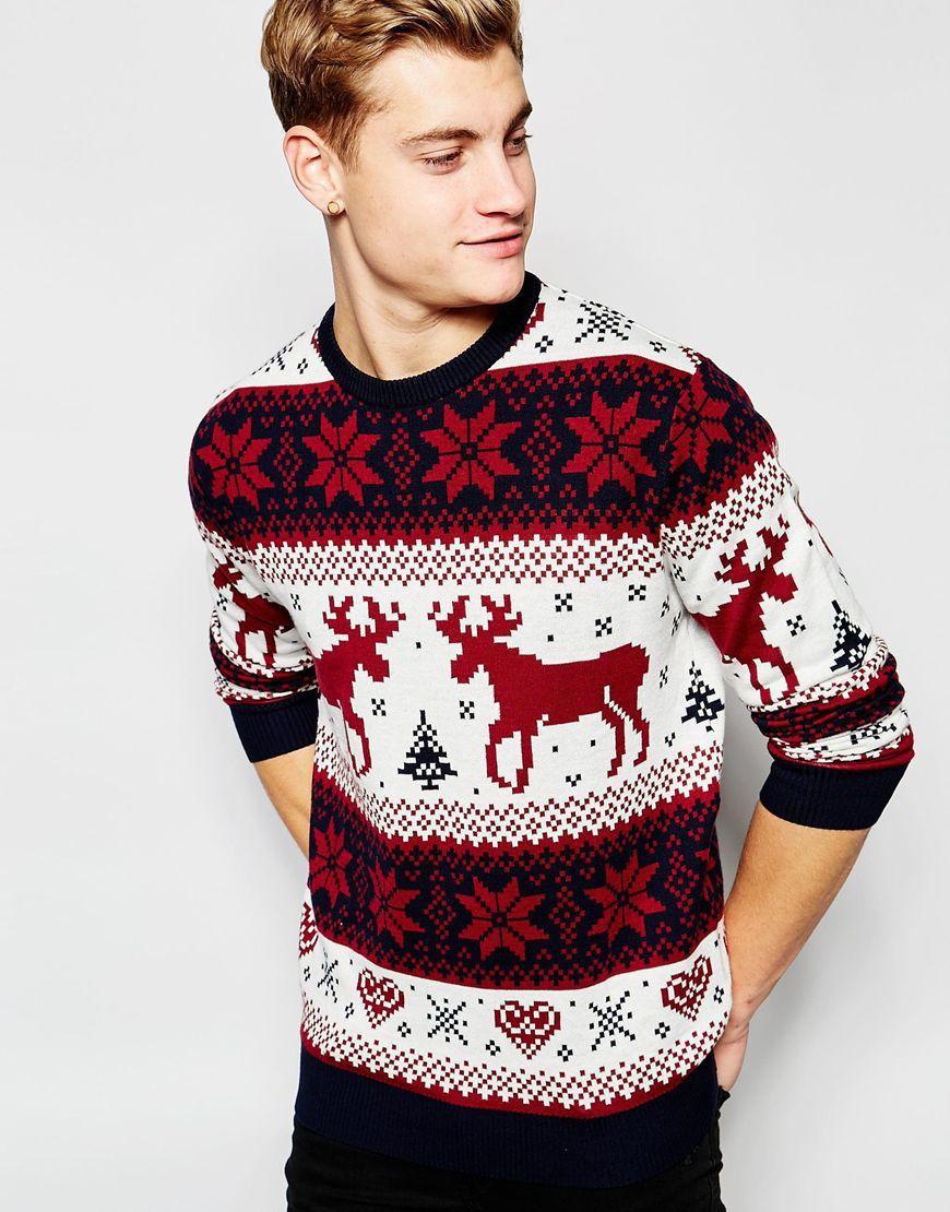 Wählen Sie für späteste Luxus Original wählen Kalėdinis megztinis | Jack & Jones | Christmas | SPY | Xmas ...