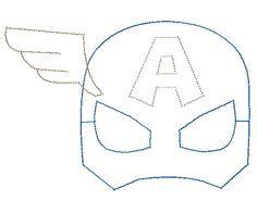 Https Www Google Com Search Q Captain America Mask Mascaras De Superheroes Manualidades De Superheroes Molde Antifaz
