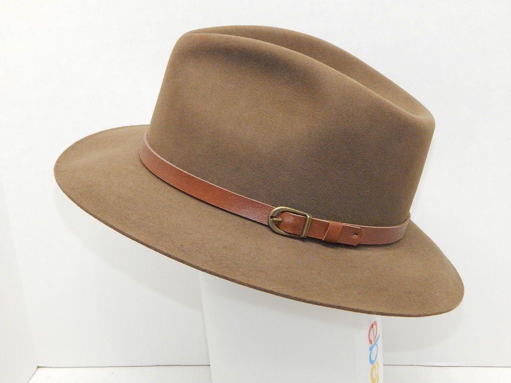 0bf041a888ca5 Vintage LL Bean Stetson Moose River Hat- Size 7-R Khaki color