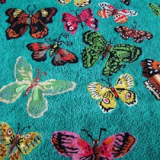 Butterfly rug ~ Nathalie Lete