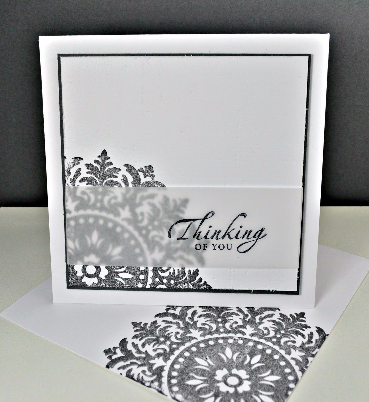 Sympathy Card Ideas To Make Part - 27: Hand-Made By Anne-Marie: Sympathy Cards (make With Marina Mist U0026 Silver  Embossed Text)