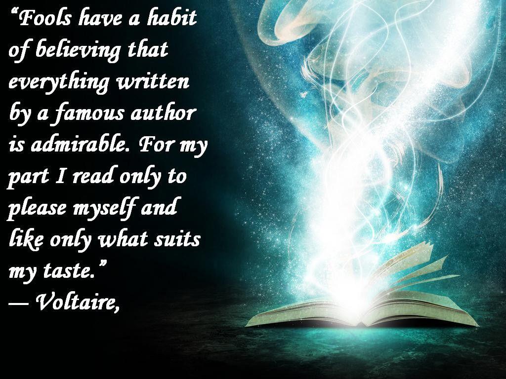 Quotes Voltaire Voltaire Quote About Reading  Quotes About Books  Pinterest