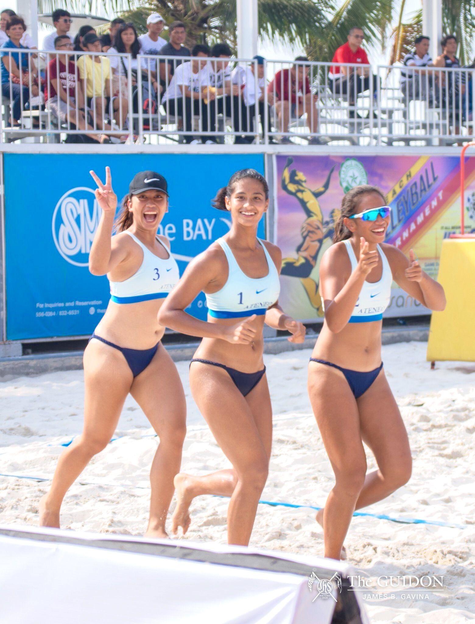 Pin By Jimmy Mariano On Beach Volleyball Uaap In 2020 Beach Volleyball Swimwear Bikinis