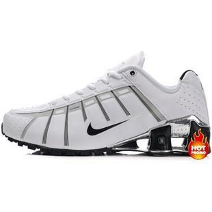 best service 50a14 59ce4 Mens Nike Shox NZ 3 OLeven White Silver Black