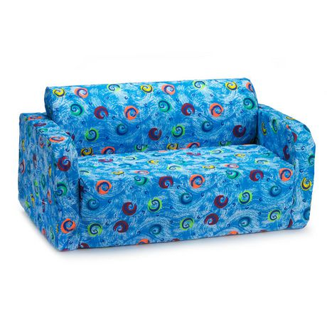 Comfy Kids Inc Comfy Kids Flip Sofa Blue Blue Sofa Cheap
