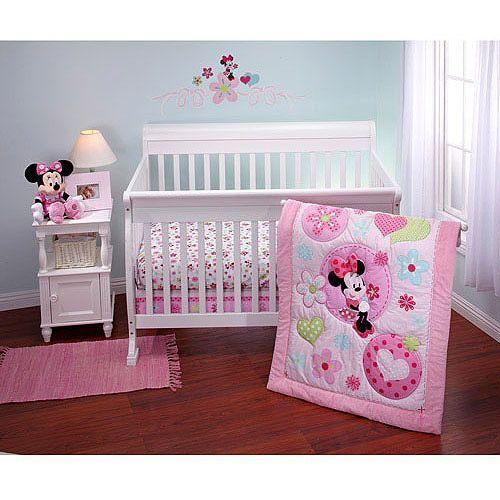 Disney - Minnie Sitting Pretty Crib Bedding Collection ...