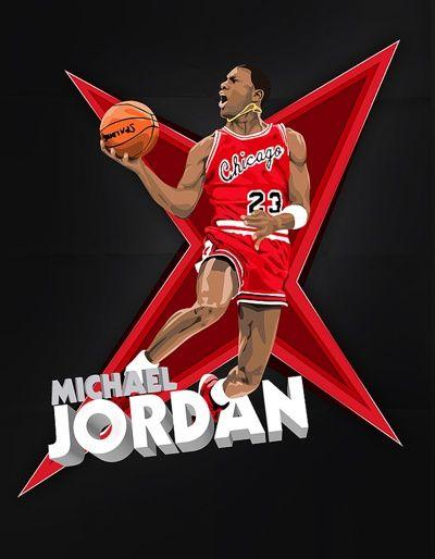 Michael Jordan Dunk Art