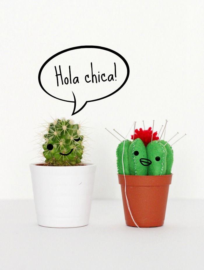 Kaktusnadelkissen nähen