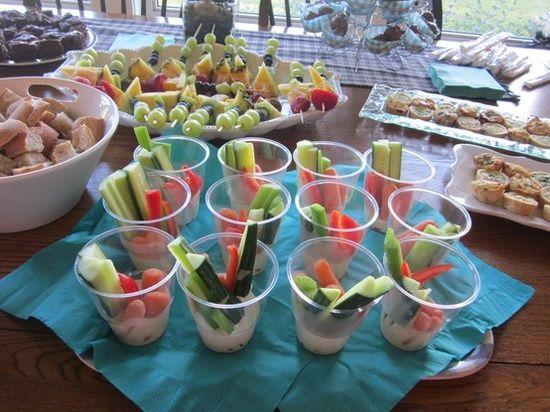 engagement party bbq ideas | veggie cups #wedding shower food veggie cups #wedding shower food ...
