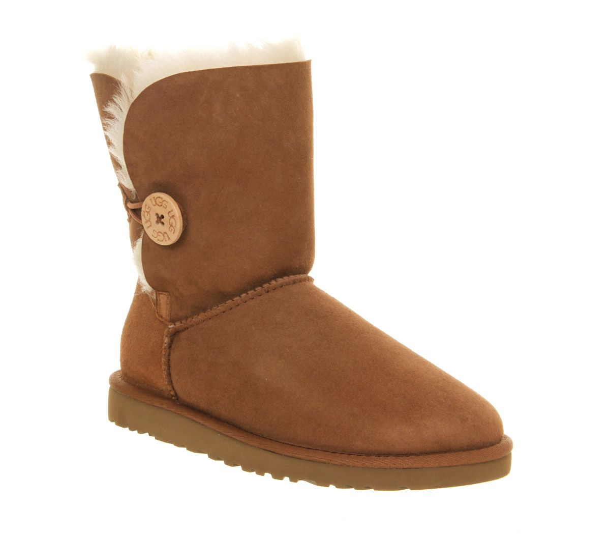UGG Australia Bailey Button Chestnut - Ankle Boots. Dear abundant universe,  I would like