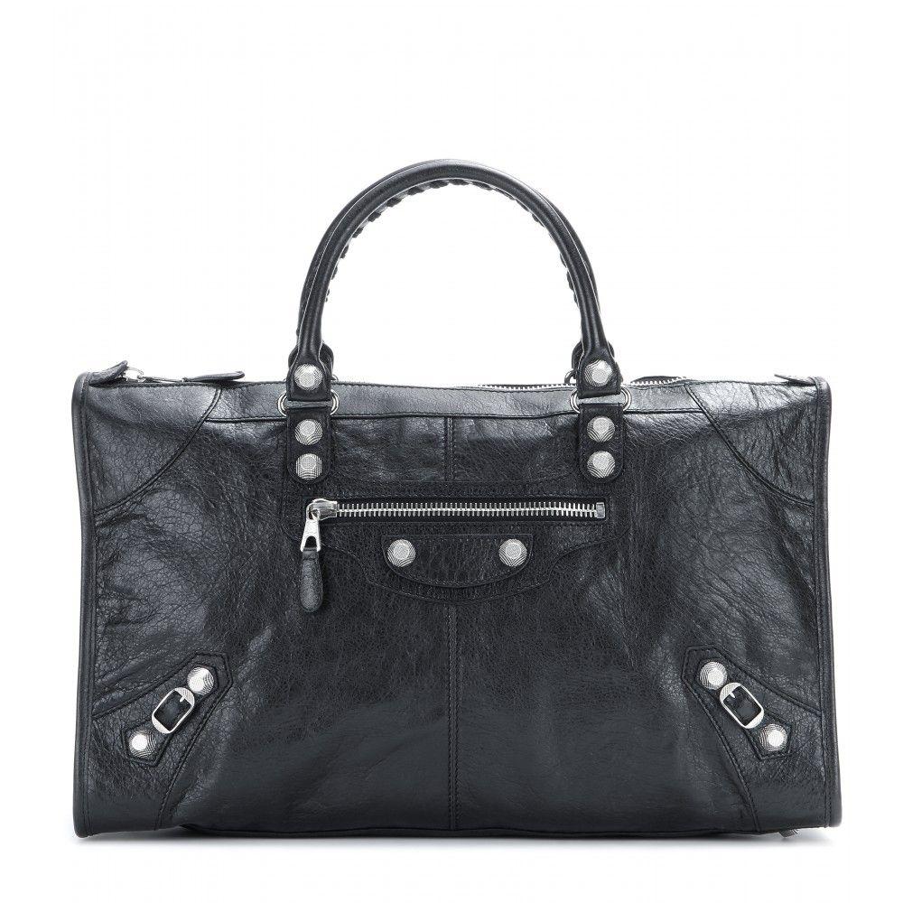Balenciaga - Giant Work 12 leather tote - mytheresa.com