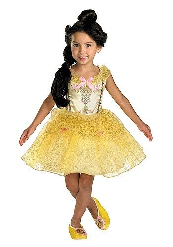 Adorable little ballerina costume for pretend play  sc 1 st  Pinterest : belle costumes for toddlers  - Germanpascual.Com