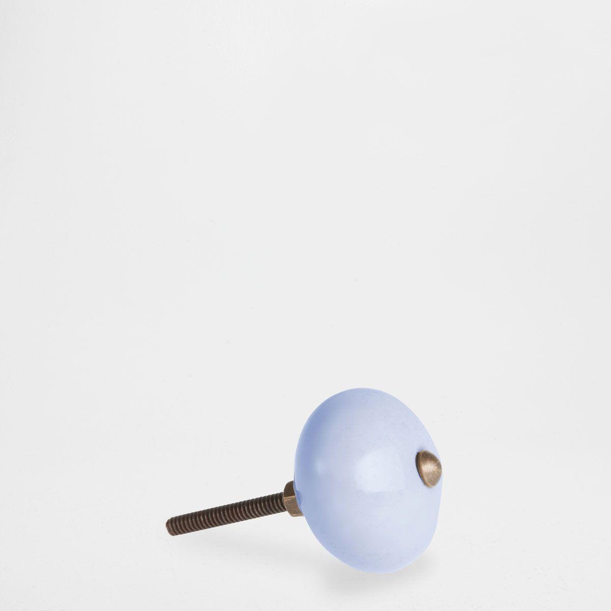 Plain earthenware door knob (set of 2)   Earthenware, Door knobs ...