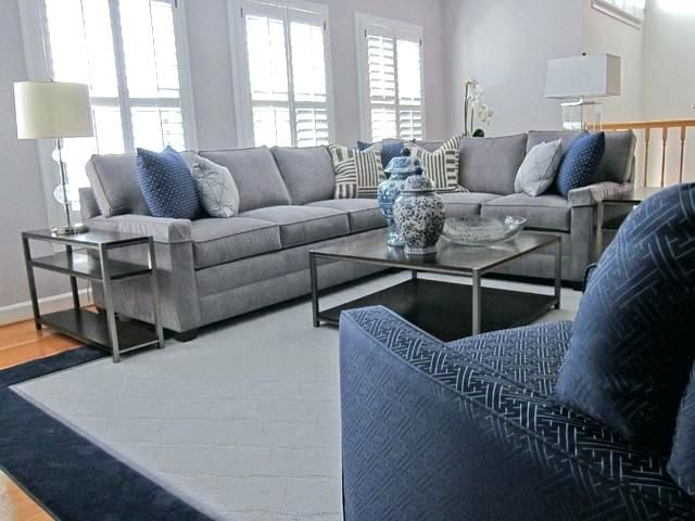 Navy And Grey Living Room Ideas Grey And Navy Living Room Classic