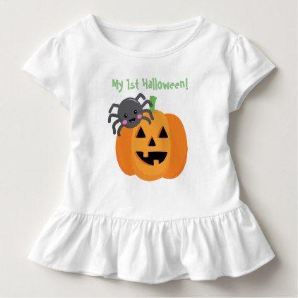 #first halloween toddler t-shirt - #Halloween #happyhalloween #festival #party #holiday