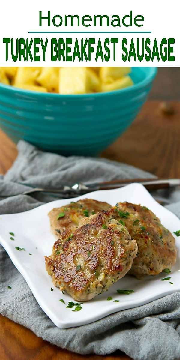 Homemade Turkey Breakfast Sausage Recipe - Freezer Friendly