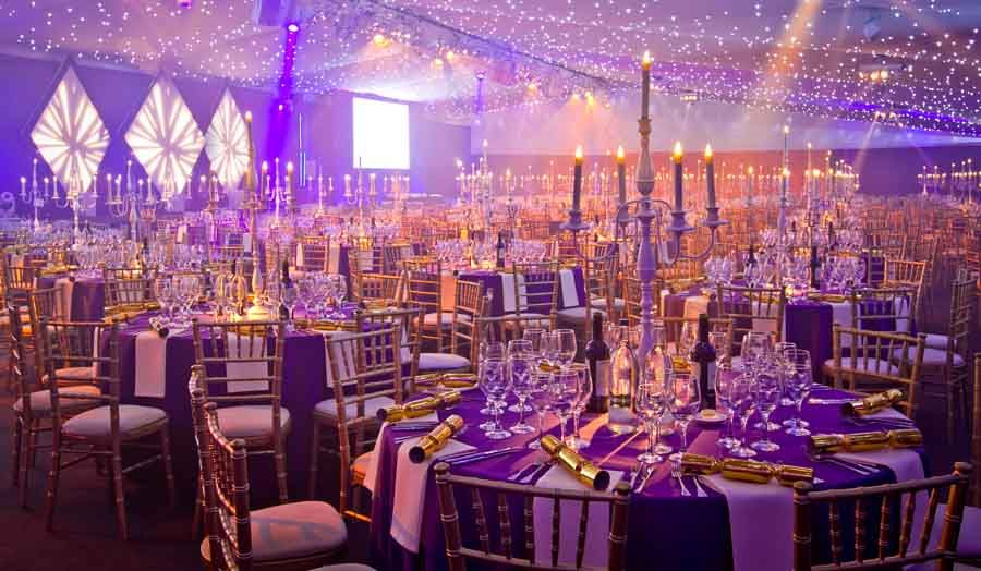 Beautiful Office Christmas Party Ideas London Part - 5: Christmas Wedding Decoration Ideas - Love The Snowflakes Hanging From The  Ceiling! Description From Pinterest