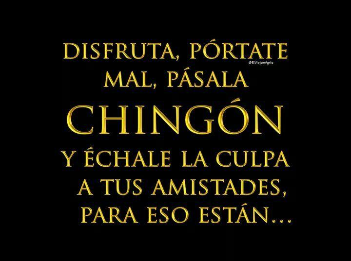 Malas Amistades Frases Frases Chingonas Y El Humor