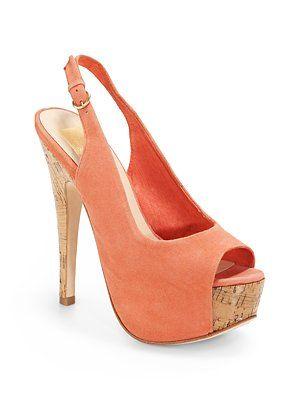 Dolce Vita Dolores Suede Platform Sandals