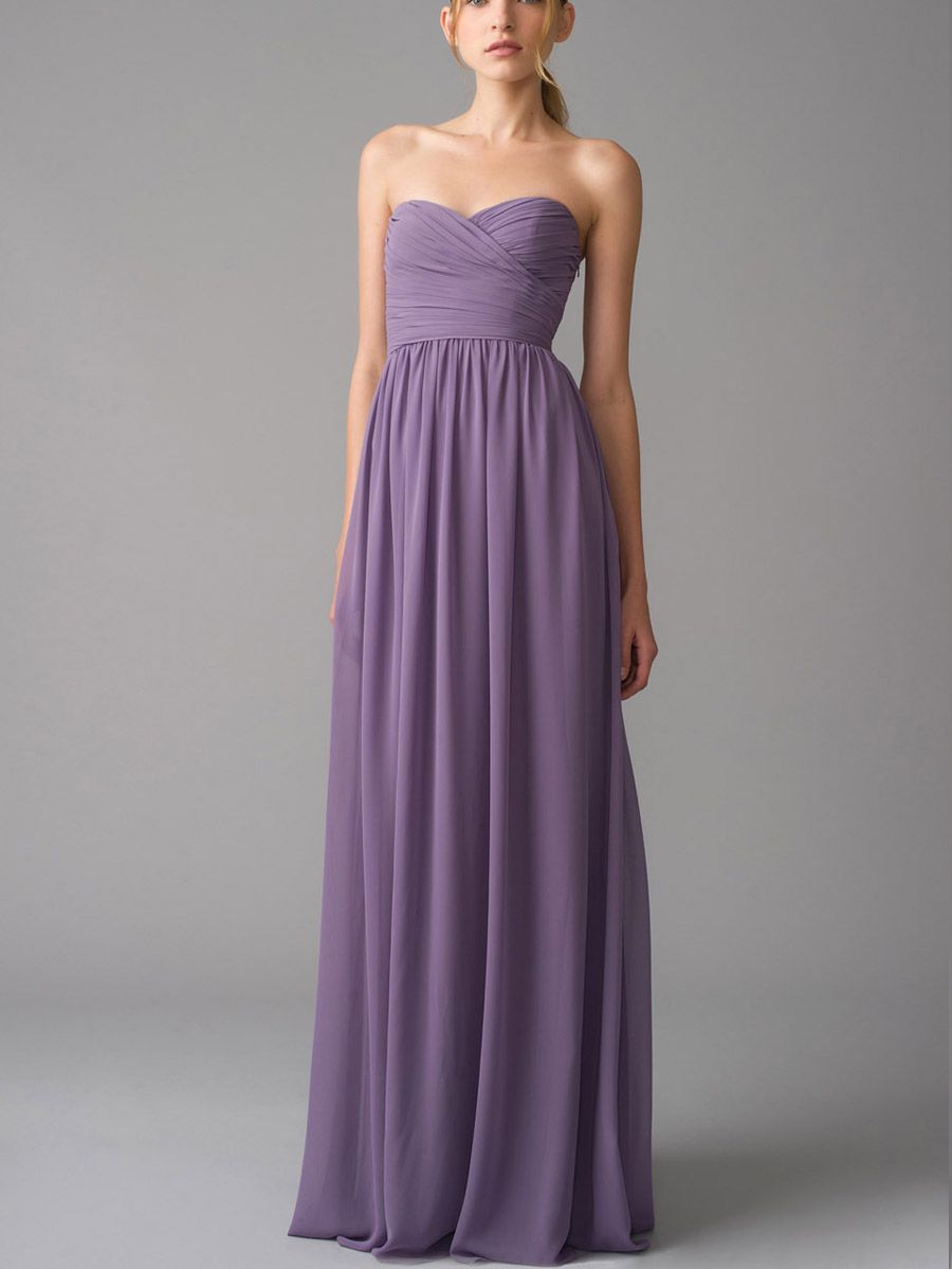 Bridesmaids Dresses How To Choose Por Chiffon Bridesmaid