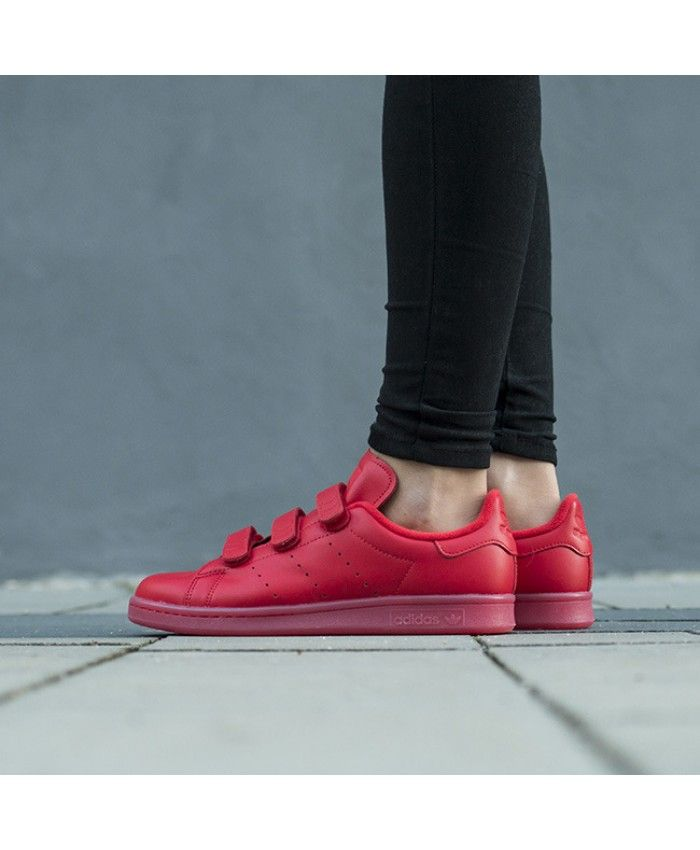 super popular ad4bc 5504d Adidas Sale Originals Stan Smith Cf Red Trainers