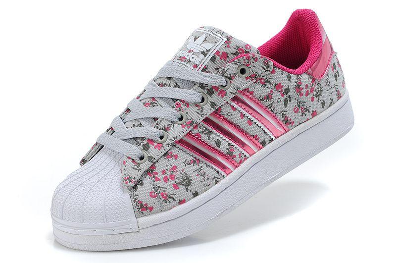 zapatillas adidas flores niña