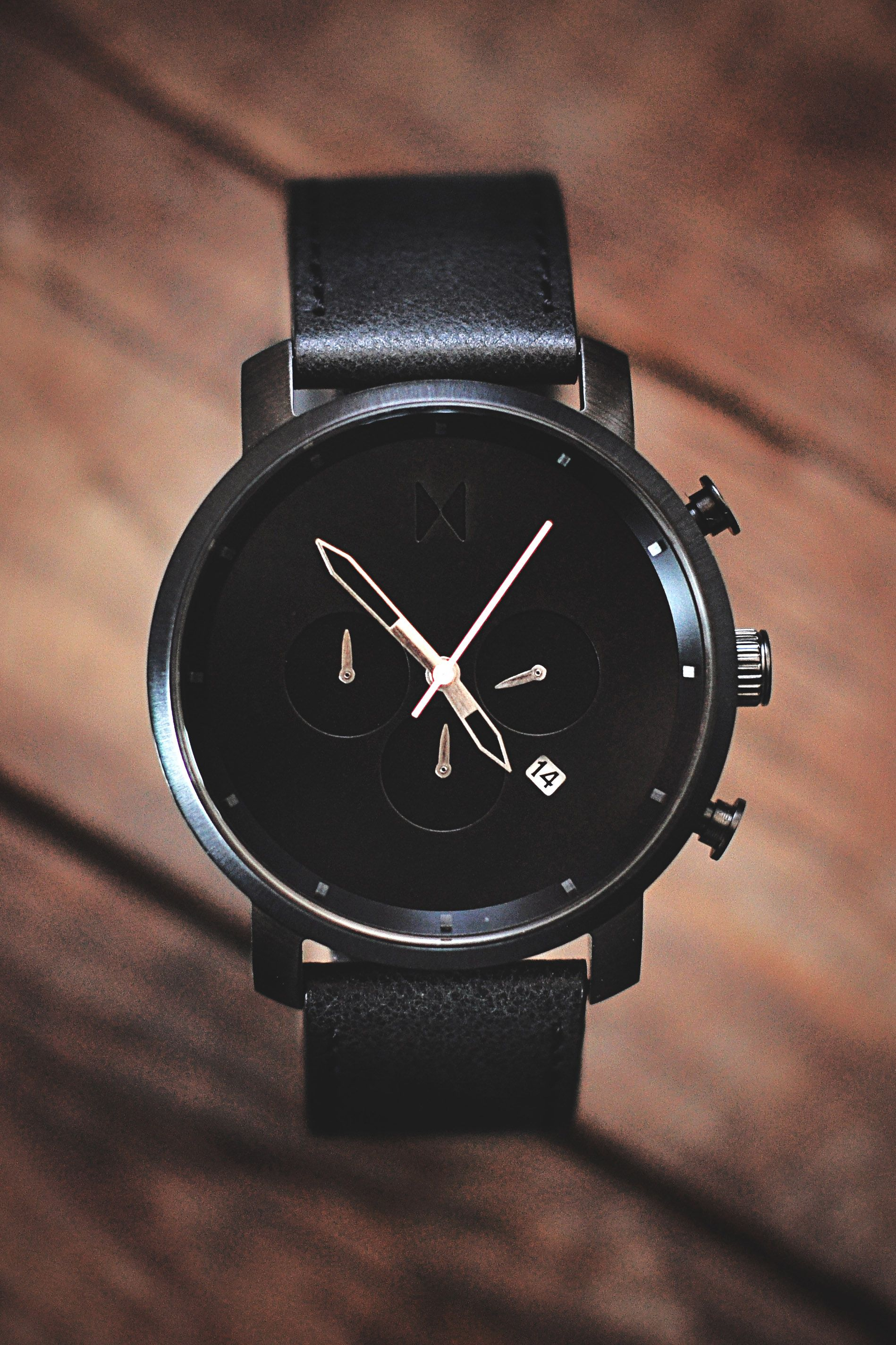 black leather products from brown strap zephyr edited watches manooco zephyrblackbrownleather watch