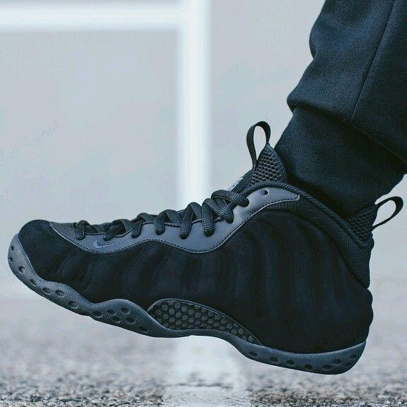 Nike Air Foamposite One Triple Black Size 14 | Nike, Nike air and ...
