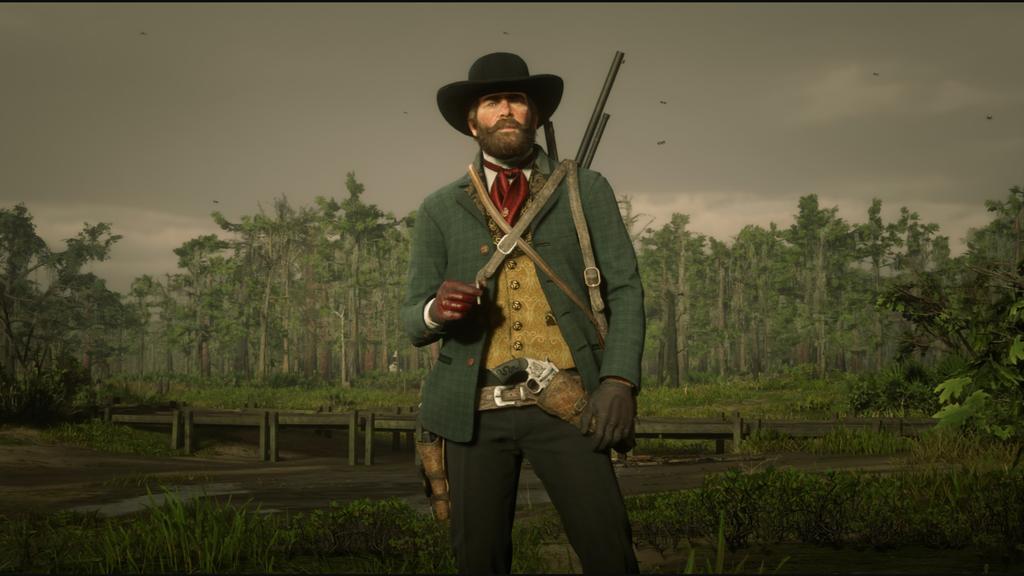 The Modern Cowboy Red Dead Redemption Ii Red Redemption 2