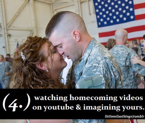 Dating while in military