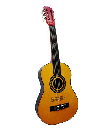 This Natural Acoustic Guitar is perfect! #zulilyfinds