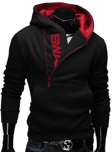 6XL Fashion Brand Hoodies Men Sweatshirt Male Zipper Hooded Jacket Cas –  USMART NY