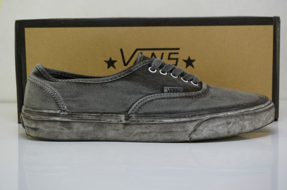 Vans California Authentic CA Over Washed Black US 8-12  a5f326ccf