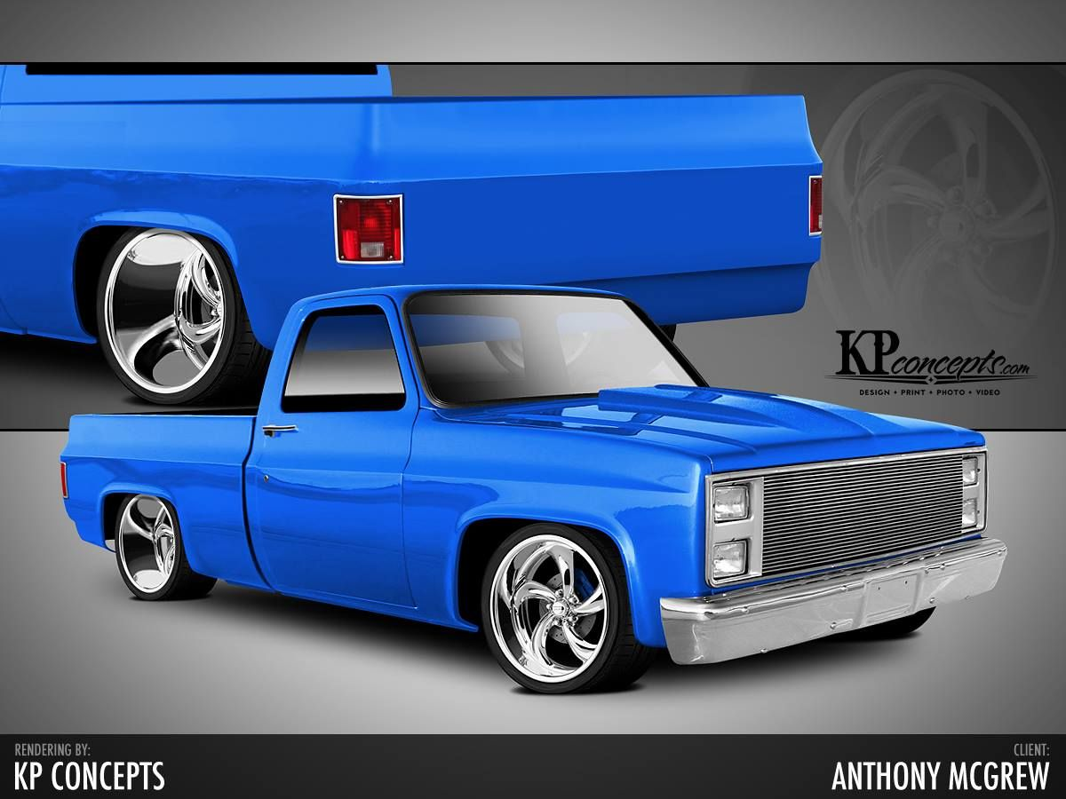 All Chevy 63 chevy c10 : 63) KP Concepts | Chevy truck | Pinterest | Cars, C10 chevy truck ...