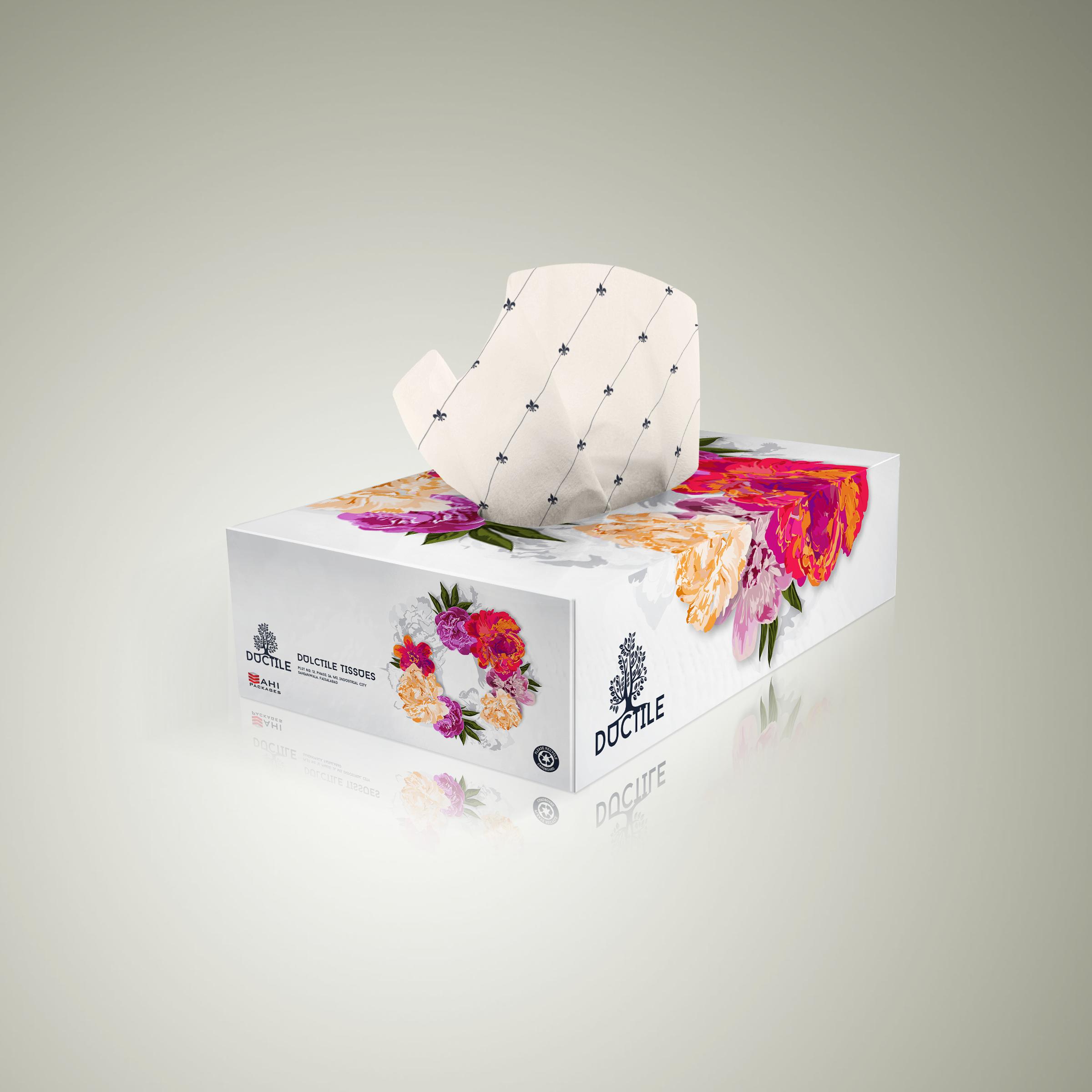 7395+ Napkin Box Mockup PSD File