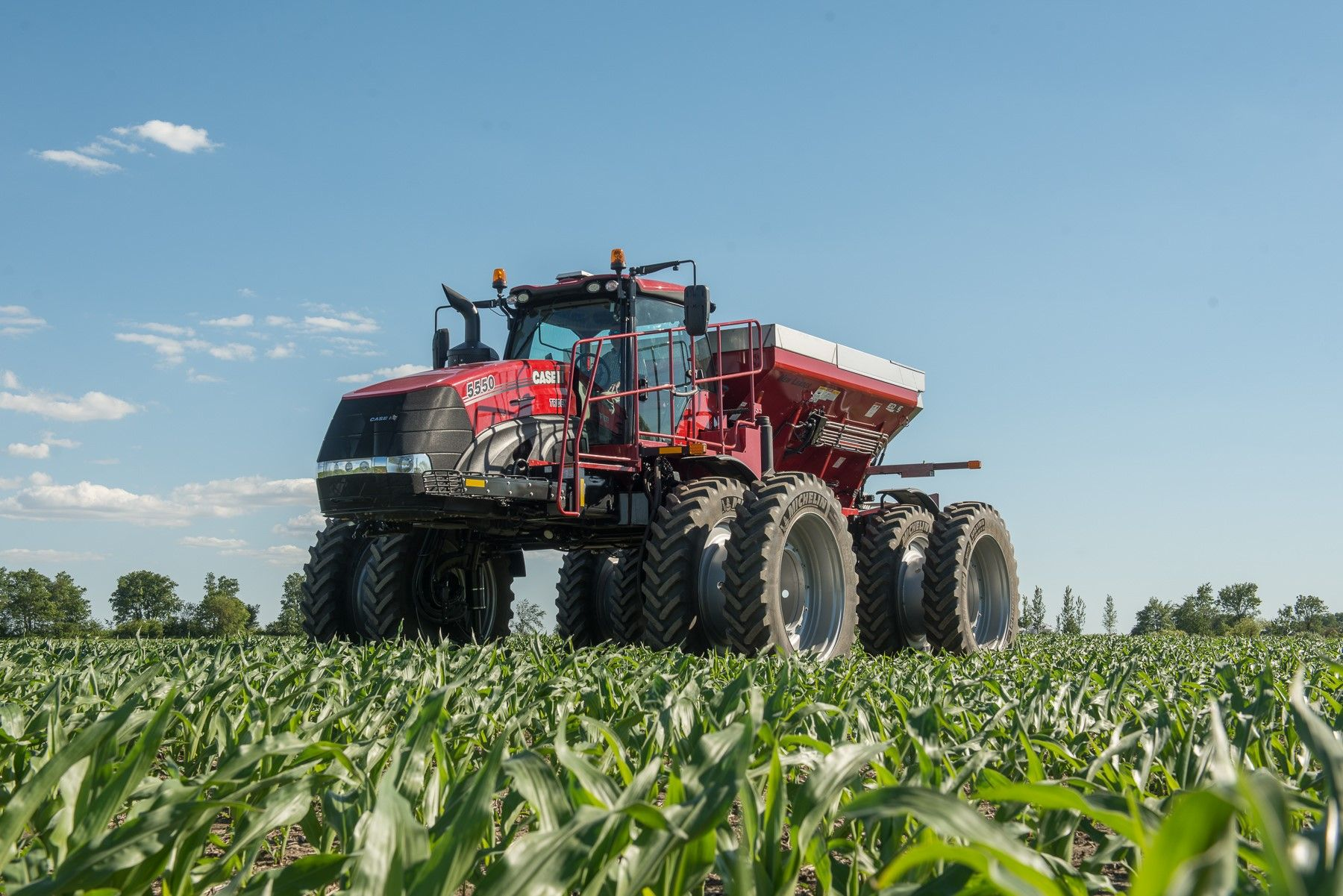 Case Ih Introduces Trident 5550 Applicator Case Ih Case
