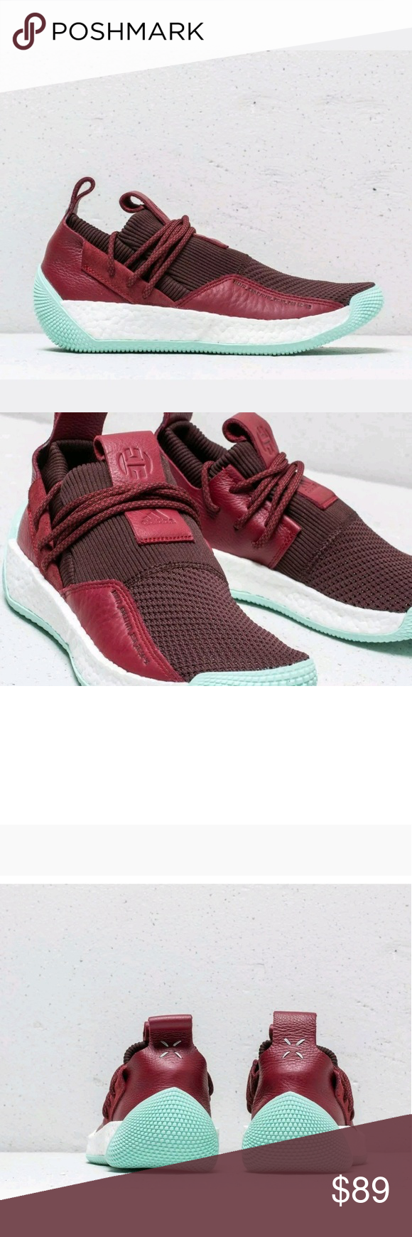 f9f06408e Adidas Harden LS 2 Lace Red Basketball Shoes Sz 10 New Adidas Harden LS 2  Lace