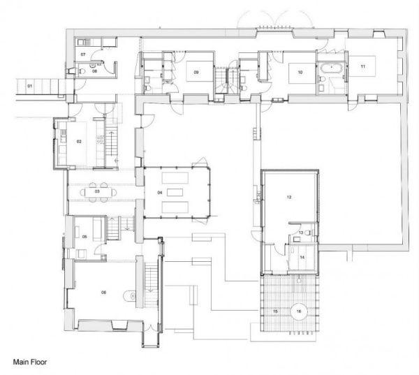 Mucha Landhaus Berghaus Home: Hauspläne Schottland Architekturplan Rural Design