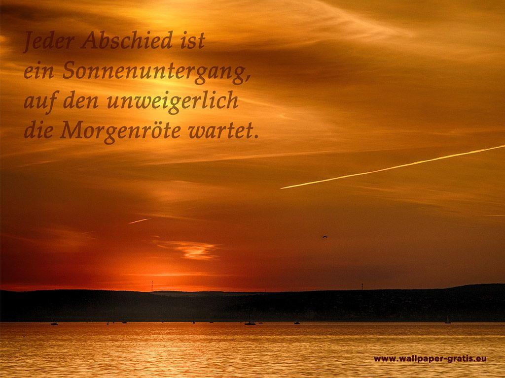 Zitat - Sonnenuntergang 001 - Hintergrundbild | Zitate