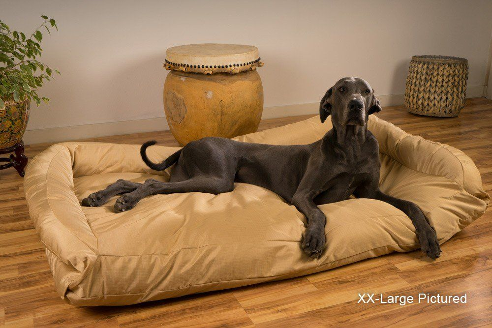 Tough Bolster Nesting Dog Bed Dog Bed Giant Dog Beds
