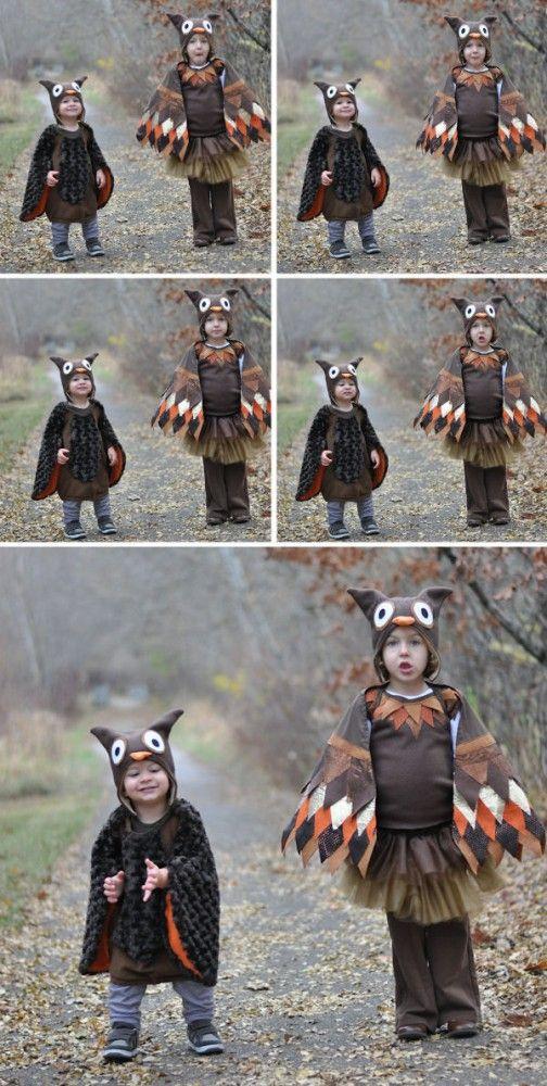 Kinderkostüm Eule | For the kids. | Pinterest | Eule, Fasching und ...