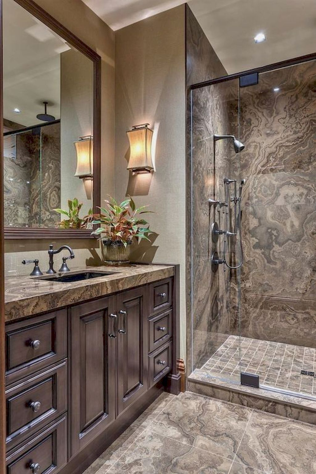 16 Beautiful Master Bathroom Remodel Ideas (With images ...