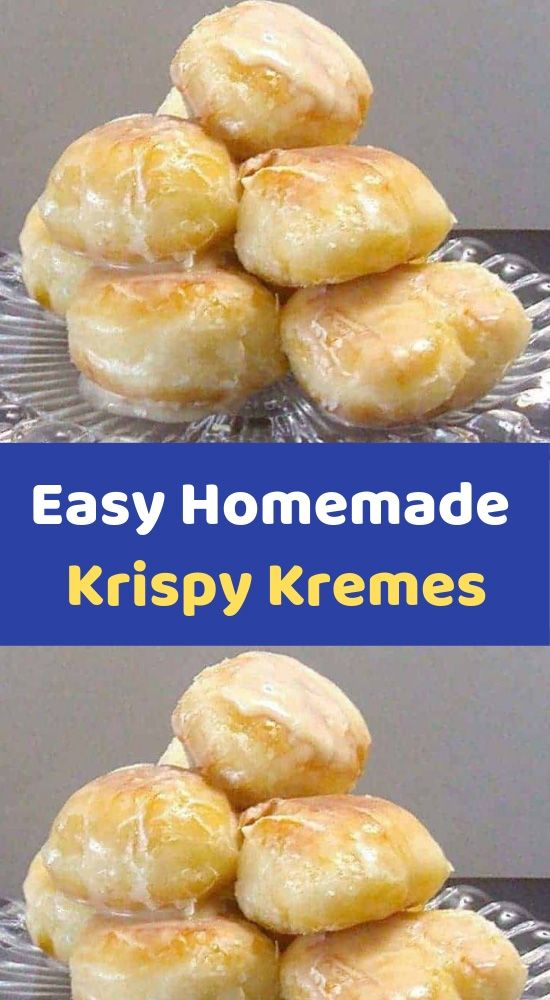 Easy Homemade Krispy Kremes Ingredients 3 tablespoons milk 3 tablespoons boiling water 1 teaspoon dry active yeast 8 ounces allpurpose flour ( a little under 2 cups, I recommend you measure and weigh is part of Dessert recipes -
