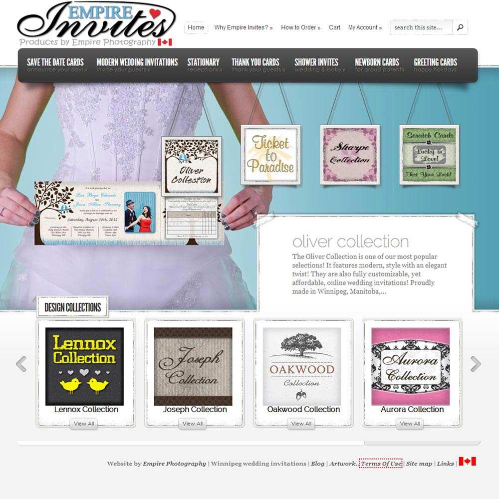 Custom Online Passport Invitations from Winnipeg, Canada ships to ...