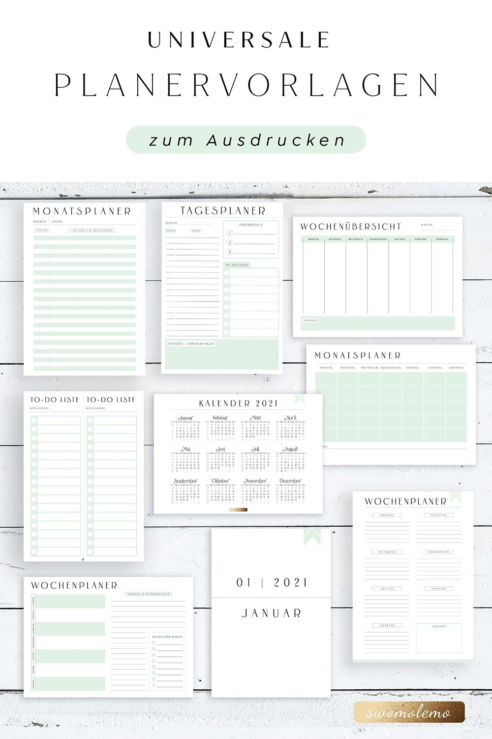 Free Printable Dated Daily Planner With To